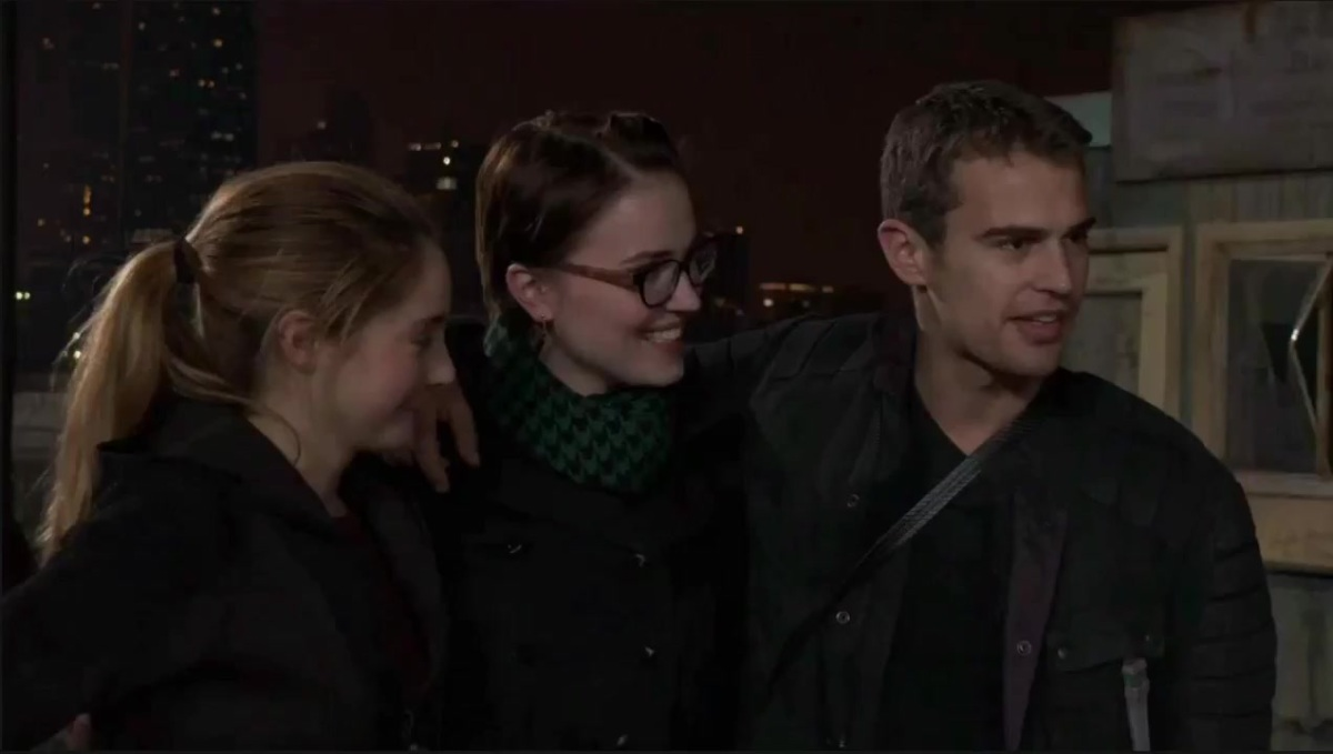 Divergent Featurette - Interviews and Behind the Scenes Footage 574